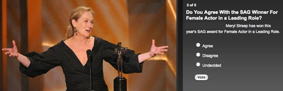 Do You Agree With the SAG Movie Winners?