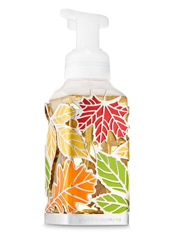 Tossed Leaves Gentle Foaming Soap Holder