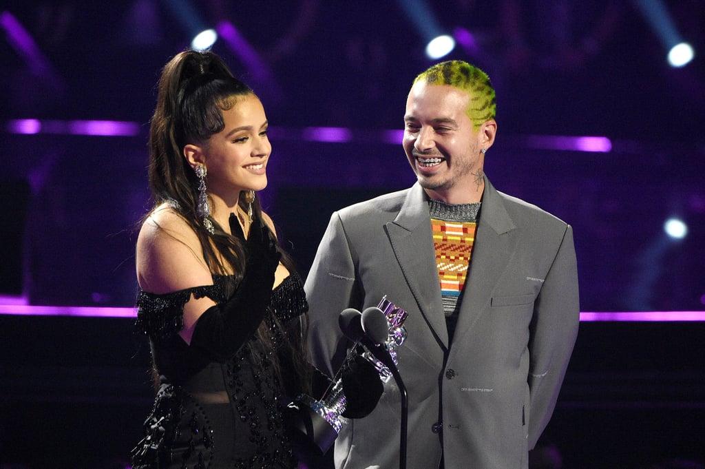 Rosalia and J Balvin's Acceptance Speech At MTV VMAs 2019