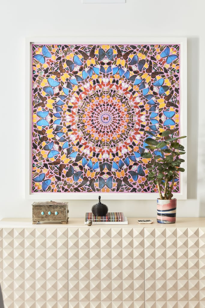 """This mesmerising """"Butterfly Kaleidoscope"""" painting by Damien Hirst is the epitome of a conversation piece."""