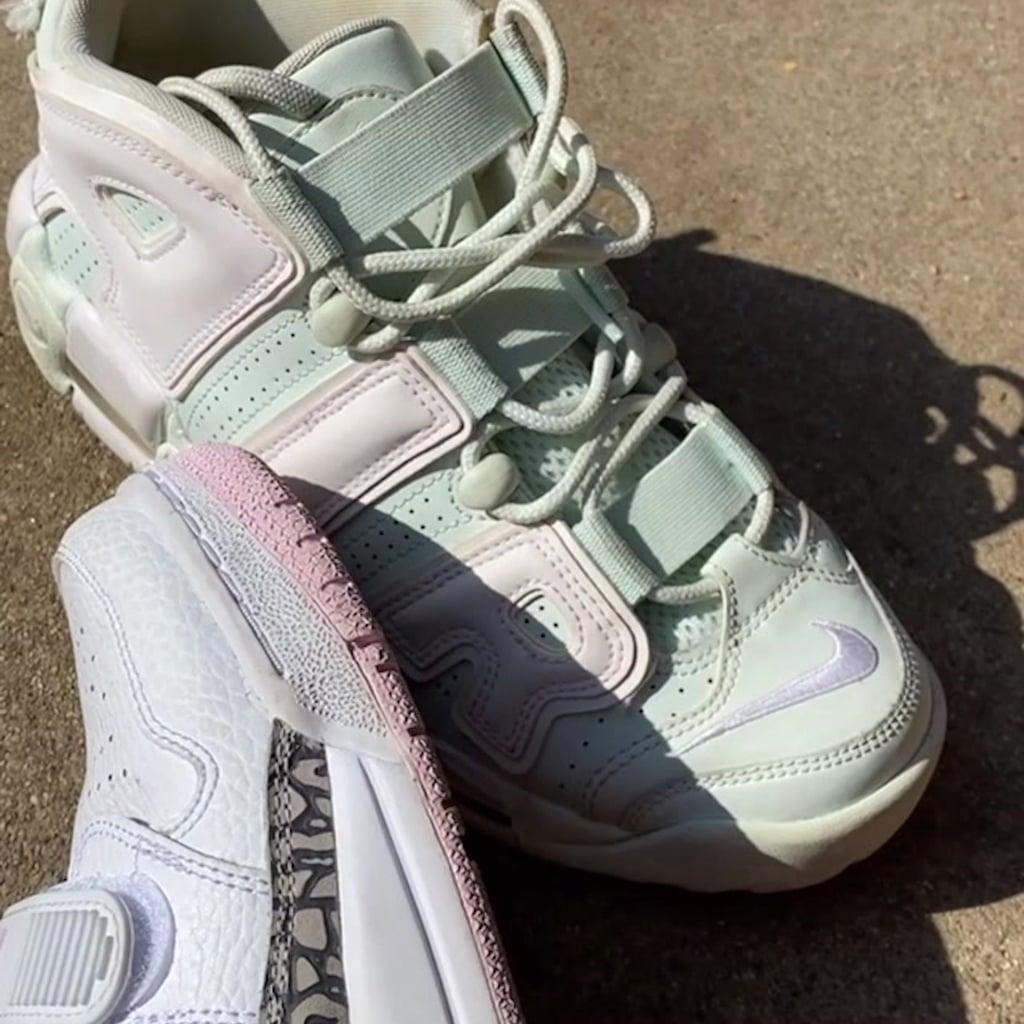 Billie Eilish's Green Nike Air Uptempo