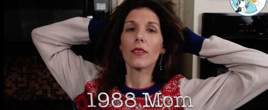 1980s Mom Versus Today's Mom