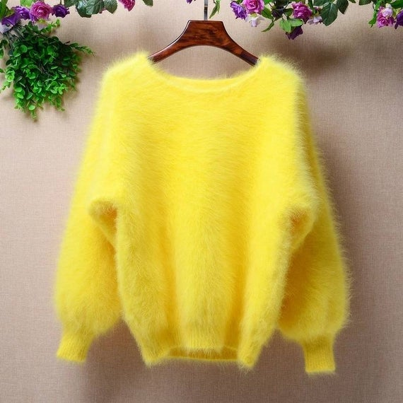 The MIV Shop Fluffy Sweater