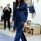 How to Wear Jeans: Michelle Obama
