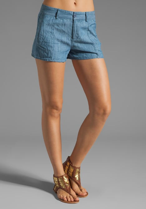 For a classic pair of denim shorts, get on these BB Dakota chambray shorts ($48).