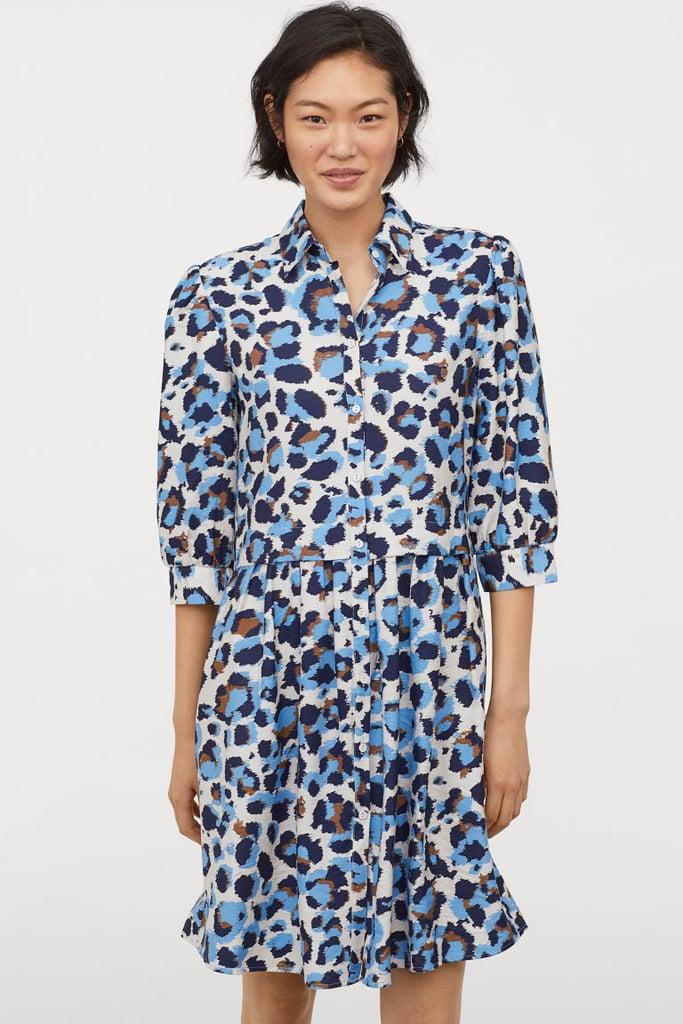 fb25229c5 H&M Shirt Dress   Best Leopard Print Dresses 2019   POPSUGAR Fashion ...