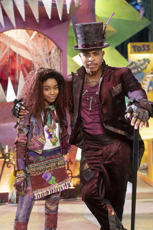 DESCENDANTS 3 - Coverage. (Disney Channel/David Bukach)JADAH MARIE, JAMAL SIMS