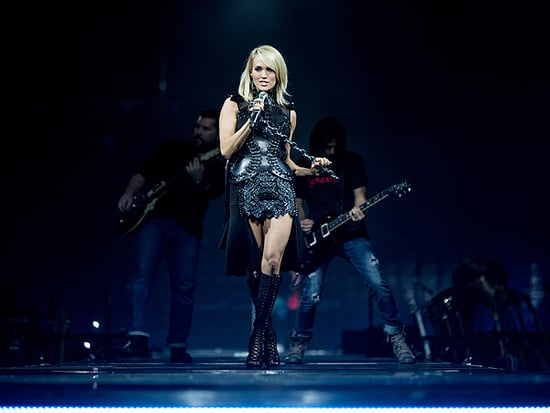 Carrie Underwood Does Her Laundry (and Hair and Makeup!) on Tour: It 'Makes Me Feel Human'