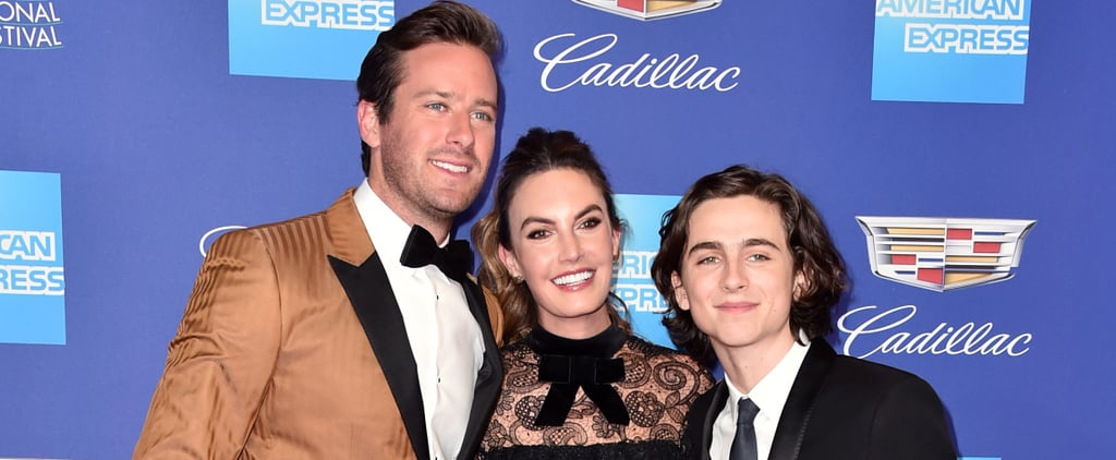 Timothee Chalamet Quotes About Armie Hammer's Wife 2018