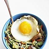 Broccoli Slaw With an Egg