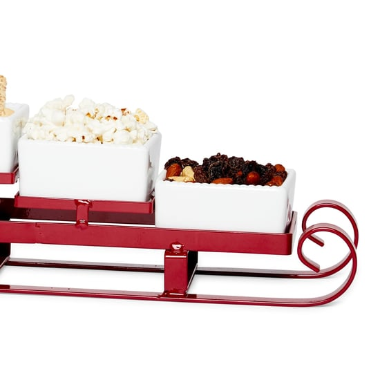 HomeGoods Is Selling Adorable Santa Sleigh Serving Dishes