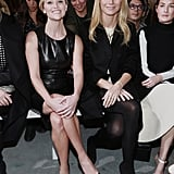 Reese Witherspoon and Gwyneth Paltrow partnered up in the front row at the Boss show on Wednesday.