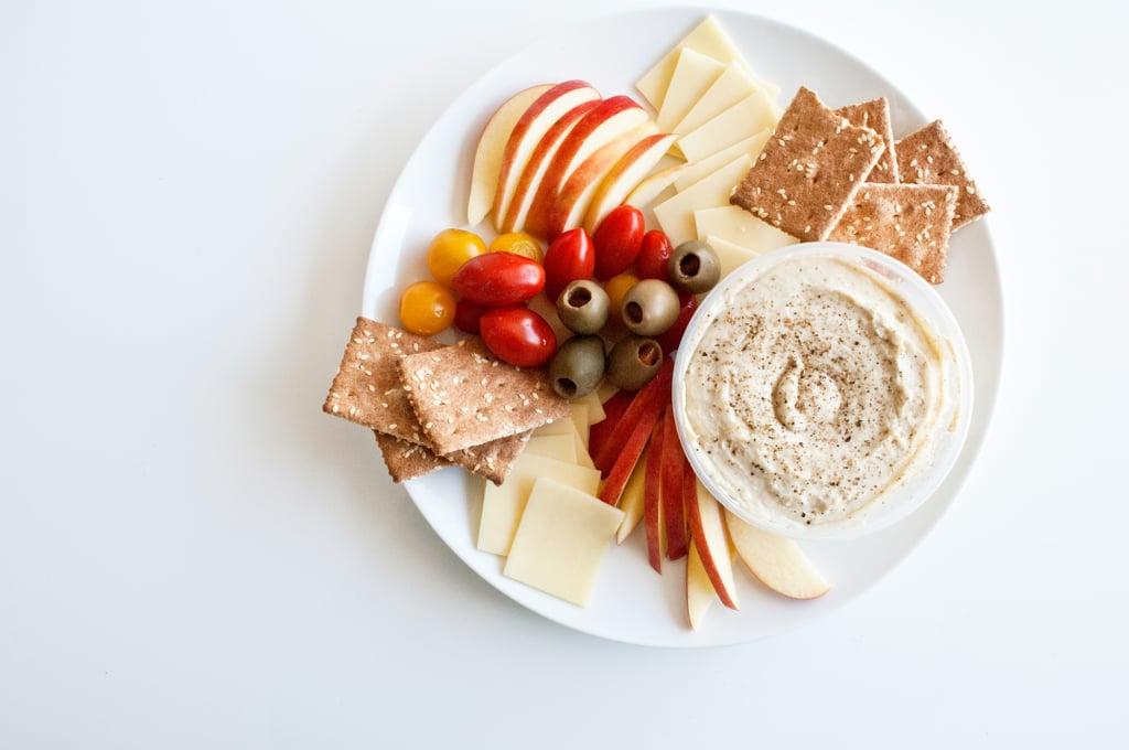 Clean-the-Fridge Cheese Plate