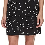 Equipment Lucida Sleeveless Star-Print Silk Shirtdress, Black ($268)