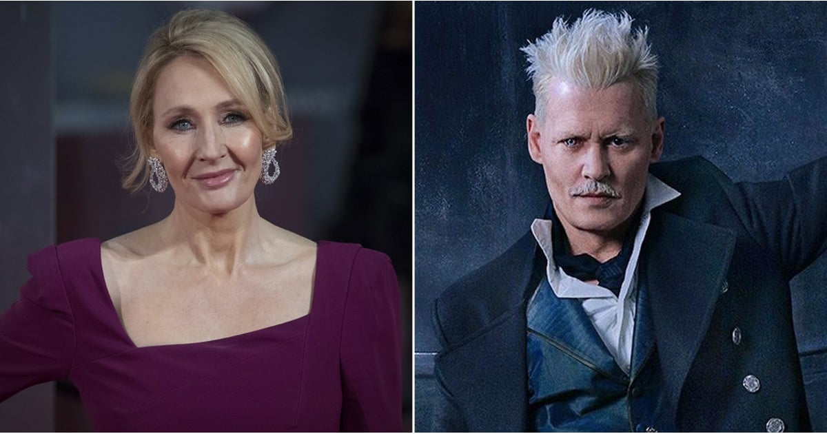 J.K. Rowling Finally Breaks Her Silence About the Johnny Depp Casting Controversy