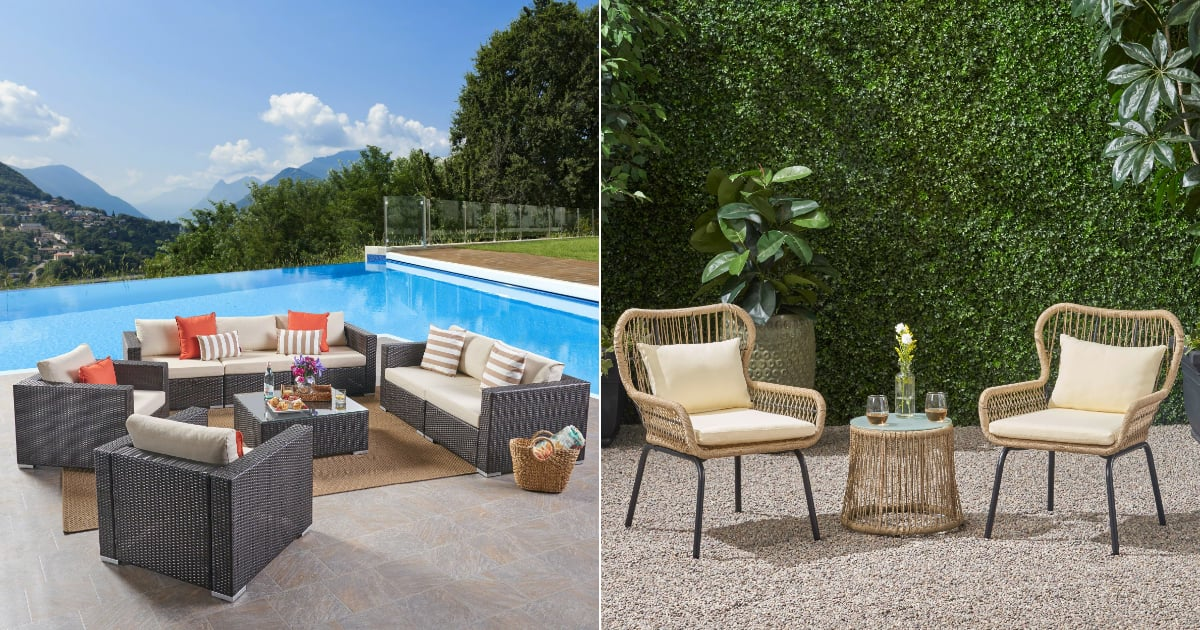 These Outdoor Furniture Finds Are So Good, Customers Gave Them All 5-Star Ratings