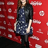 Anna Kendrick premiered Happy Christmas at Sundance on Sunday.