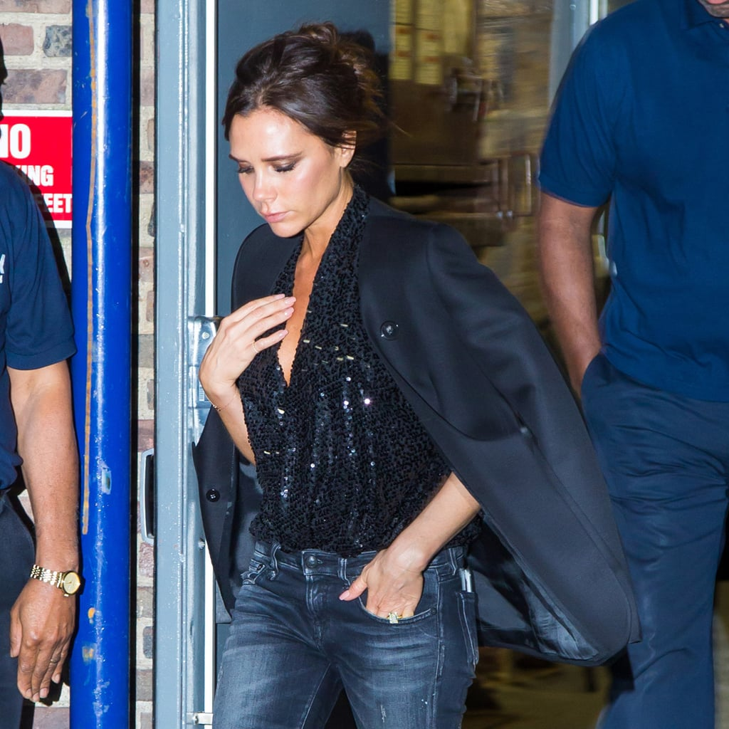 """Victoria Beckham Is Bringing Back the """"Going Out"""" Top"""