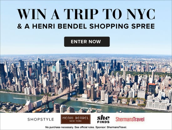 ShopStyle NYC and Henri Bendel Shopping Spree Giveaway