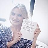 Cameron Congratulating Drew on Her Book