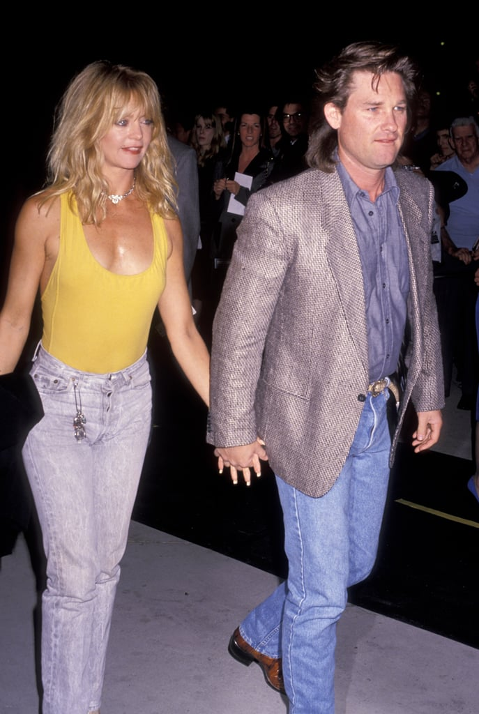 Kurt Russell and Goldi...