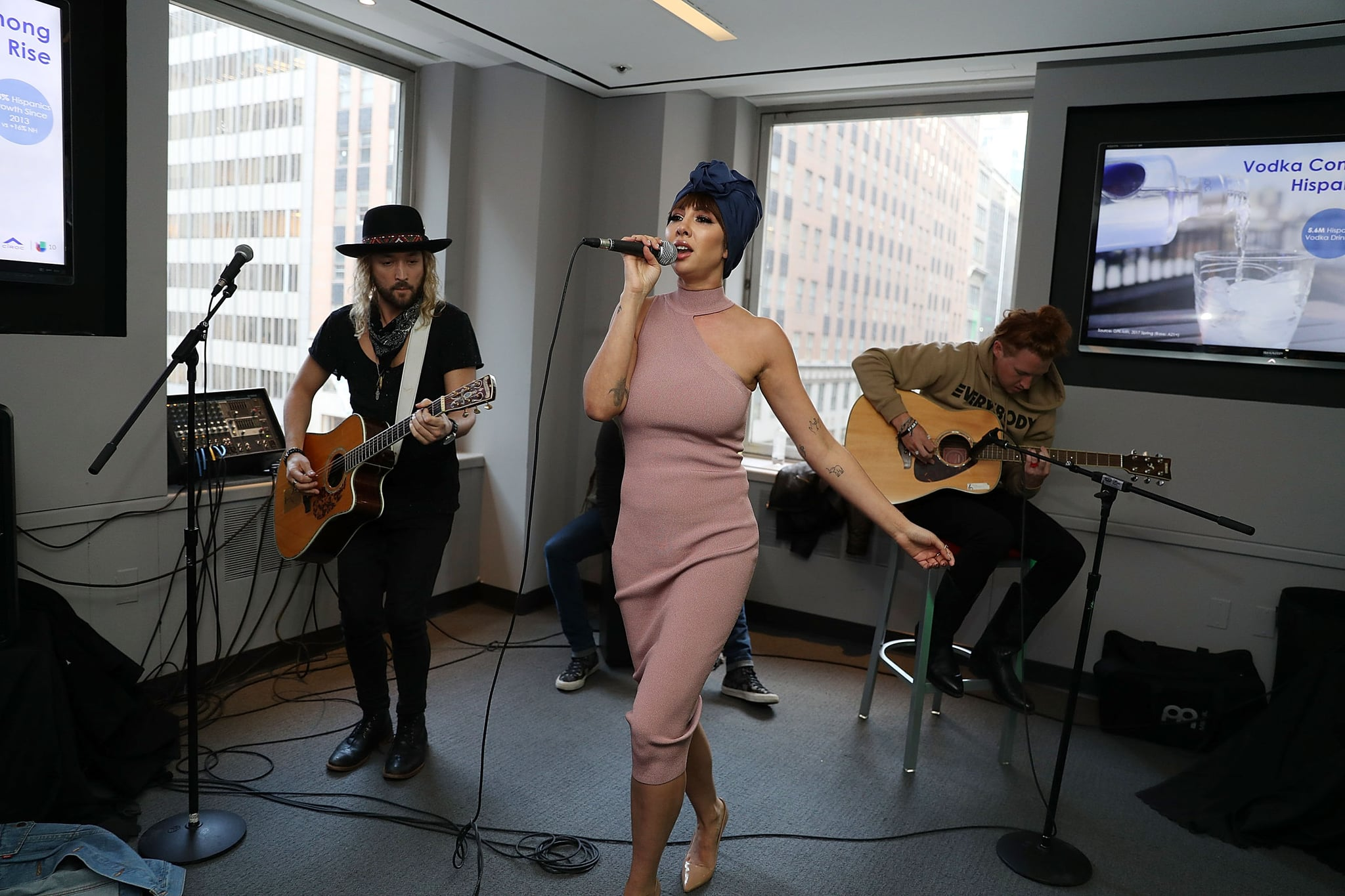 NEW YORK, NY - MARCH 22:  Jackie Cruz attends Jackie Cruz Performs During A Univision Happy Hour on March 22, 2018 in New York City.  (Photo by Shareif Ziyadat/Getty Images)