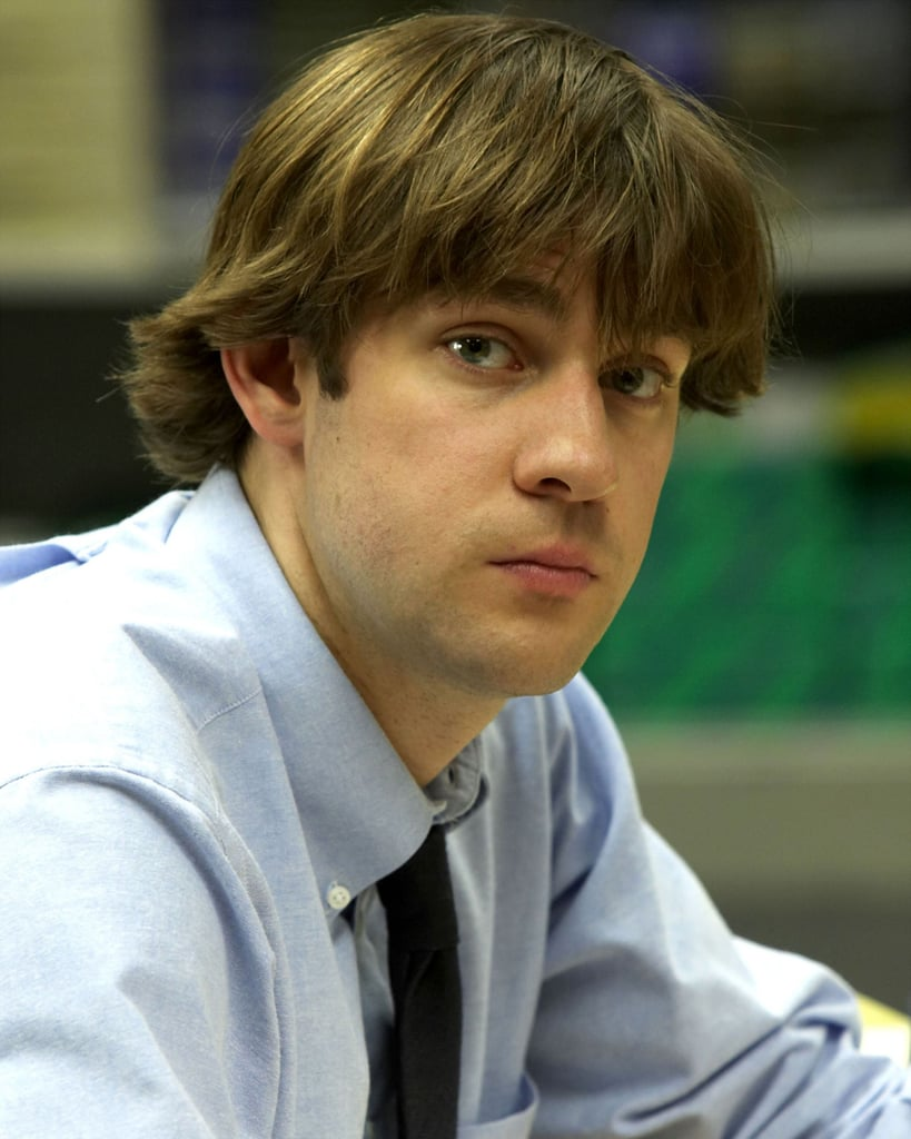 the office's jim's hair pictures | popsugar entertainment