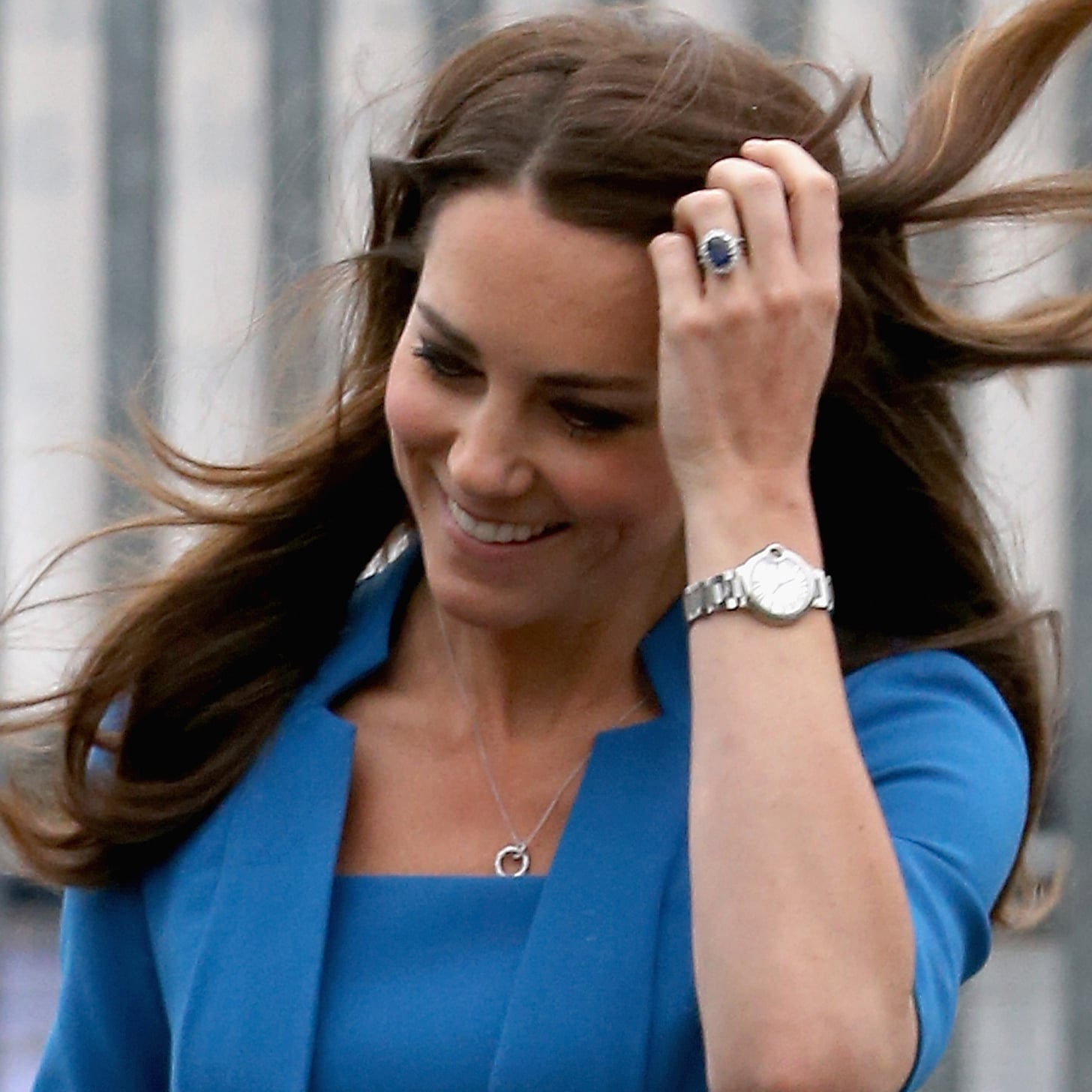 Kate Middleton Is Covered in Jewels for a State Dinner at Buckingham Palace