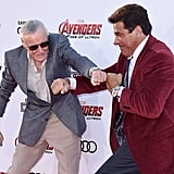 Pictured: Stan Lee and Lou Ferrigno