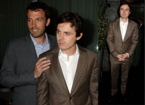 Photos of Ben Affleck and Casey Affleck at a Private Dinner Hosted by Esquire in Honor of Casey Affleck
