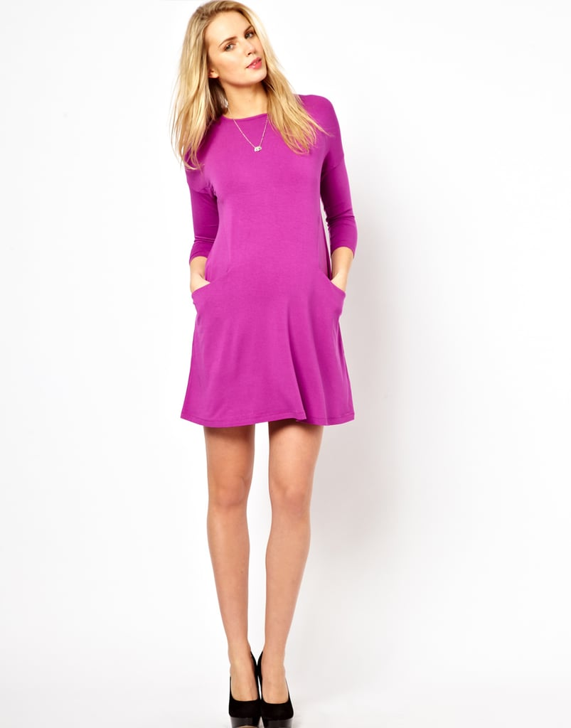ASOS Shift Dress With Pockets