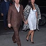 Matthew McConaughey and Camila Alves at Serenity Screening