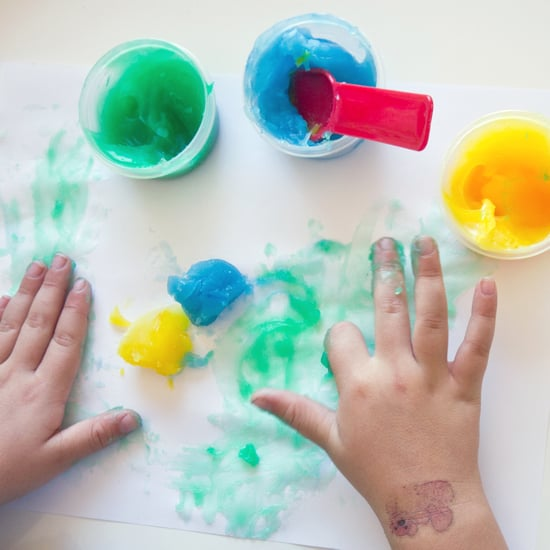 DIY Gluten-Free Finger Paint