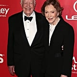 Former President Jimmy Carter and his wife, Rosalynn Carter, dressed up for the MusiCares event.