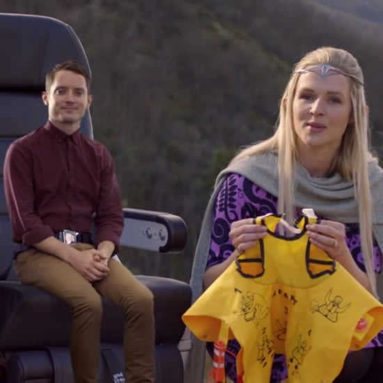 Elijah Wood in Air New Zealand's Safety Video
