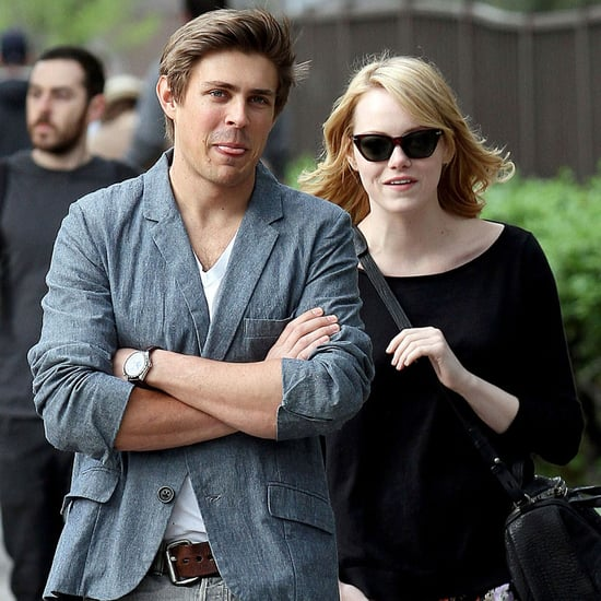 Emma Stone Pictures Walking NYC With Chris Lowell