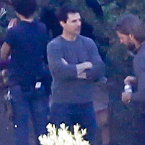 Photos of Tom Cruise on the Set of Oblivion, Following His Divorce From Katie Holmes