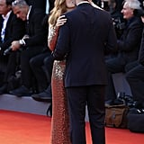 Amy Adams and Husband Kissing at Venice Film Festival 2016
