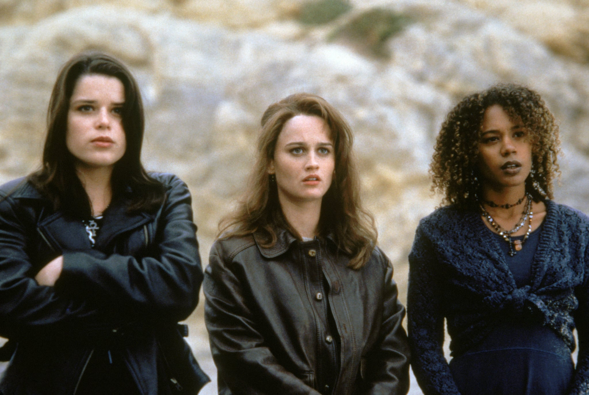 THE CRAFT, Neve Campbell, Robin Tunney, Rachel True, 1996, (c) Columbia/courtesy Everett Collection
