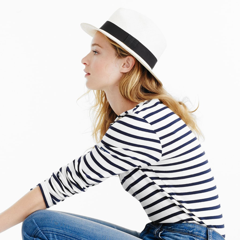 c5637138 J.Crew Panama Hat | How to Wear a Hat For Fall | POPSUGAR Fashion ...