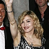 Photos of Madonna in Milan