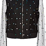 Mary Katrantzou Sparkle and Mesh Bomber Jacket ($2,690)