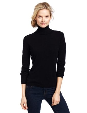 You'll never tire of this Sofie classic cashmere turtleneck ($82, originally $164). The fitted shape and luxurious cashmere will make this your layering go-to season after season.