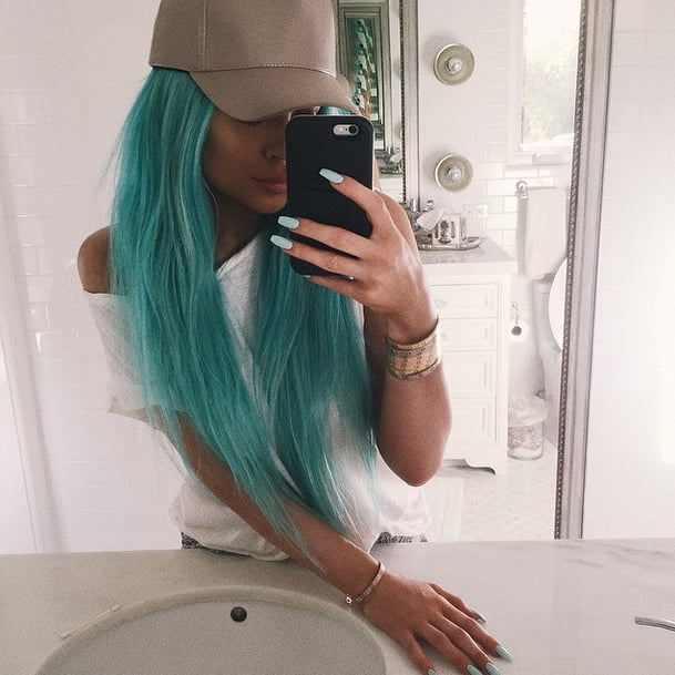 Kylie Jenner's Blue Hair | Spring 2015
