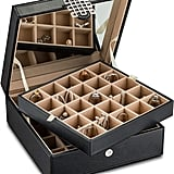 Glenor Co. Classic 50-Slot Jewelry Box
