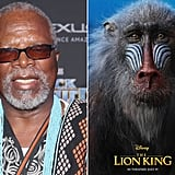 Who Plays Rafiki in The Lion King Reboot?