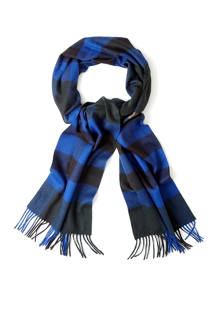 As Burberry transitions from one game-changing CEO (Angela Ahrendts) to another (Christopher Bailey), I've got the British brand on the brain. Adding one last updated classic from the Ahrendts era, like this Blue Check Scarf ($481) in brilliant sapphire cashmere, is a way to honor the house's past while looking into its future. — JF