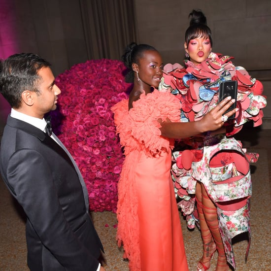 Rihanna and Lupita Nyong'o at the 2017 Met Gala