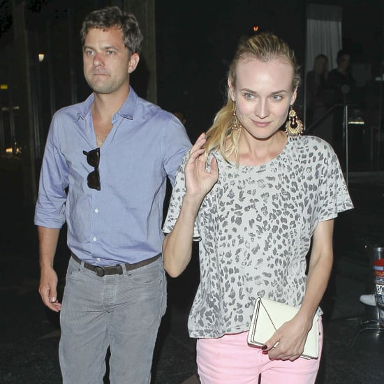 Joshua Jackson and Diane Kruger at Katsuya Pictures
