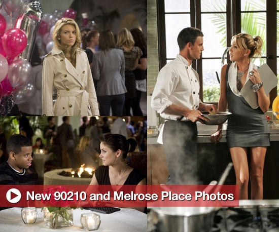 New Photos From Upcoming Episodes of 90210 and Melrose Place